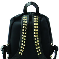STUDDED STRAPS BACKPACK