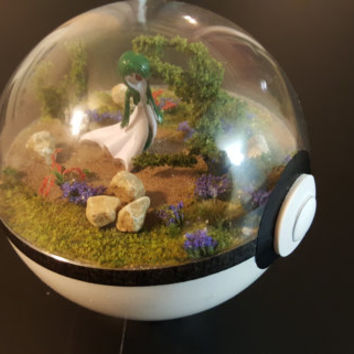 Pokemon Diorama, Spring Theme (Large)