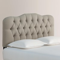Textured Woven Rae Upholstered Headboard