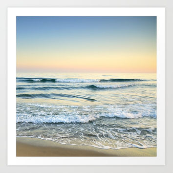 Serenity sea. Vintage. Square format by