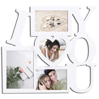 """I Love You"" 4-Opening Collage Picture Frame [PF0002]"