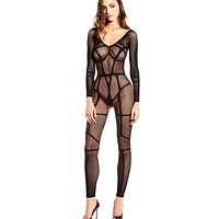 Lovestick Sheer Mesh Full Bodysuit