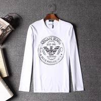 Armani Men or Women Fashion Casual Long Sleeve Top Sweater Pullover