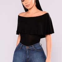 Liliane Bodysuit - Black