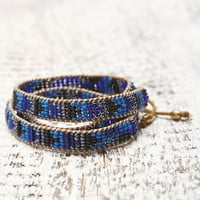 Me To We Midnight Blue Mambo Wrap Bracelet at PacSun.com