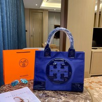 Tory burch  Women Leather Shoulder Bag Shopping Satchel Tote Bag Handbag