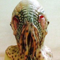 Cosplay Alien Scary Mask Octopus Latex Mask Rubber Full Head Mask