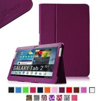 Fintie Slim Fit Folio Case Cover for Samsung Galaxy Tab 2 10.1 inch Tablet - Purple:Amazon:Computers & Accessories