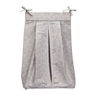 Trend Lab Geometric Circles Diaper Stacker (Grey)