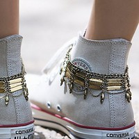 Free People Womens Delhi Anklet Set