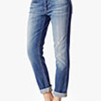 7 For All Mankind Josefina Feminine Boyfriend Jeans | Bright Light Broken Twill