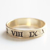 Roman Numeral Ring - Default Title