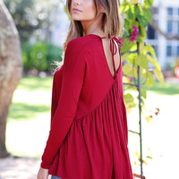 Southern Charm Babydoll Top