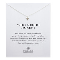 Rose Thorn Necklace, Sterling Silver   Dogeared