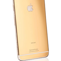 iPhone 6 Diamond Encrusted Ecstasy 24k Gold 128GB