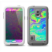 The Neon Color Fushion Samsung Galaxy S5 LifeProof Fre Case Skin Set