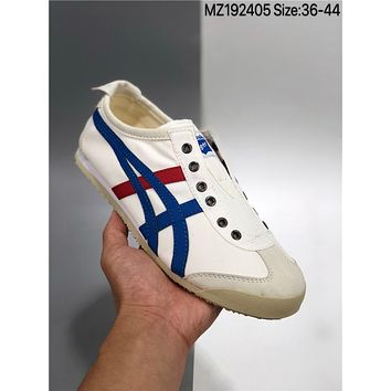 Onitsuka Tiger Mexico 66 Slip-on Cheap Women's and men's Sports shoes