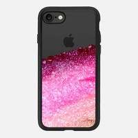 PRETTY COVERED MAGENTA FAUX GOLD by Monika Strigel iPhone 7 Hülle by Monika Strigel | Casetify