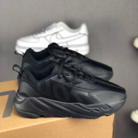 HCXX 19July 134 Adidas Yeezy Boost 700 VX Retro Casual Sneakers all black