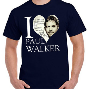 Paul walker rip T-shirt