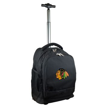 Chicago Blackhawks Wheeled Premium Backpack