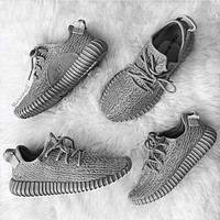 """""""Adidas"""" Women Yeezy Boost Sneakers Running Sports Shoes H"""