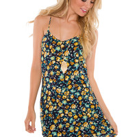 Leave A Mark Floral Dress