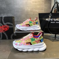 Versace Chain Reaction Sneakers #dsr102 - Best Online Sale