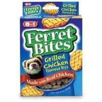 8in1 Ferret Bites Flavored Bits Grilled Chicken