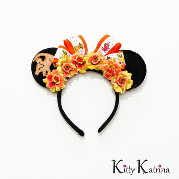 Simba Mouse Ears Headband, Simba Costume, Simba Ears, The Lion King Birthday, Disney Ears, Disney World, Disneyland, Disney's Animal Kingdom