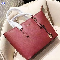 MK fashion casual lady solid color shopping bag hot selling simple shoulder bag #8