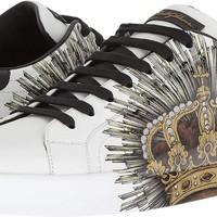 Dolce & Gabbana Mens Laurel Crown Sneaker