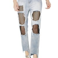 One More Chance Distressed Jeans