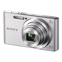 Sony Cyber-shot DSC-W830 Digital Camera (Silver)