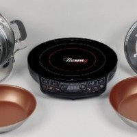 Nuwave PIC - Precision Induction Cooktop with Complete Cookware Set