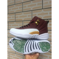 Air Jordan 12 Retro Brown/White
