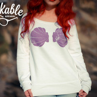 Urban Mermaid Boatneck Sweatshirt