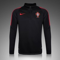 KUYOU Portugal 2016/17 Black Long Sleeve Training Top