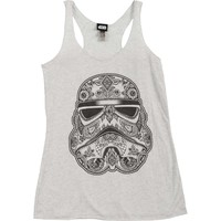 Star Wars Women's  Henna Womens Tank White