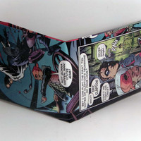 Comic Book Wallet// The Spirit and Ebony White