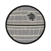 Star Wars Death Star Patch
