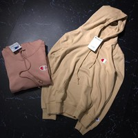 Champion Casual Long-Sleeved Hooded Sweater