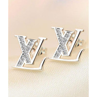 LV Louis Vuitton Women's Fine Classic Letters Earrings Personalized Earrings