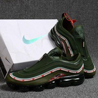 Best Online Sale Nike Air Max 97 VaporMax Army Green Sport Running Shoes
