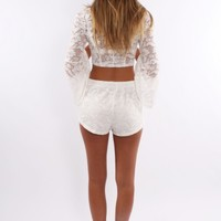 Lacey Mae Set White - Dresses - Shop by Product - Womens