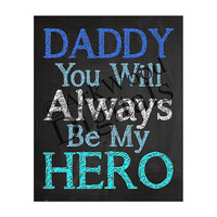 Daddy Printable Word Art Fathers Day Or Birthday Digital Download