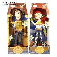 Toy Story 3 Talking Woody Jessie PVC Action Figure Collectible Model Toy Doll