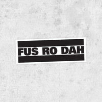 Fus Ro Dah Bumper Sticker! The Elder Scrolls: Skyrim Shouts, xbox, video game, geekery