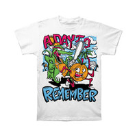 A Day To Remember Men's  Orange You Glad T-shirt White