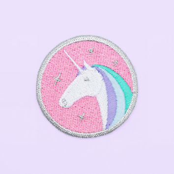 Unicorn Iron On Patch